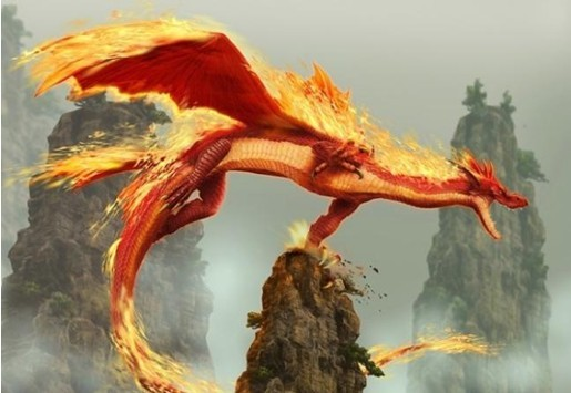 神兽/上古异兽之神兽:《烛龙》
