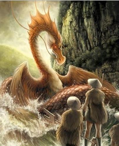 神兽 凶兽 中国古代神话/上古异兽:《应龙》